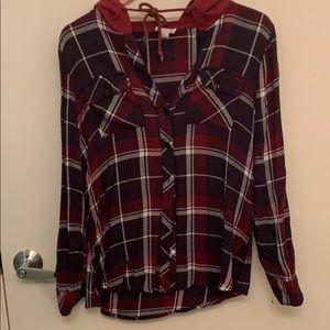Full Tilt hoodie flannel